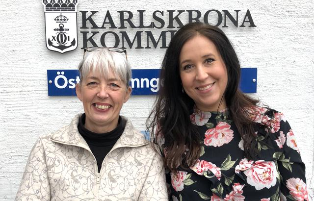 Emma Hessbo and Ewa Strömsten, HR at Karlskrona kommun