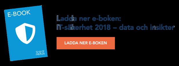 Ladda ner e-boken: IT-säkerhet 2018 - data och insikter